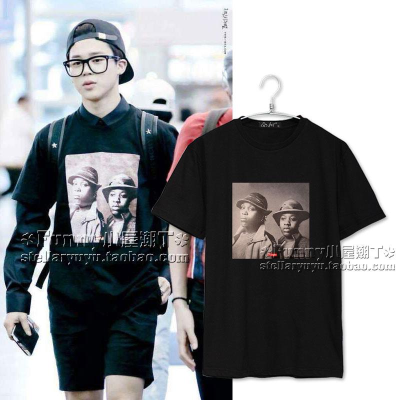 เสื้อยืด Supreme Sty.JIMIN BTS -ระบุสี/ไซต์-