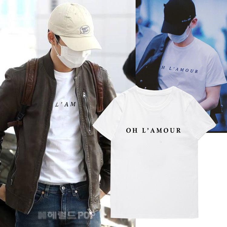 เสื้อยืด OH L'AMOUR Sty.Baekhyun -ระบุสี/ไซต์-
