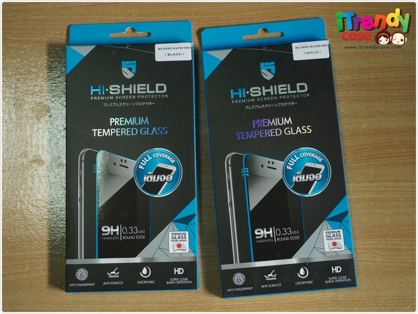 Huawei Mate9 Pro (เต็มจอ/3D) - กระจกนิรภัย Hi-Shield Premium Tempered Glass 9H 0.33mm แท้