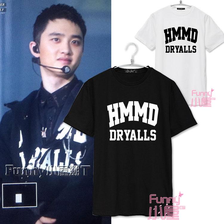 เสื้อยืด HMMD Sty.DO EXO Monster -ระบุสี/ไซต์-