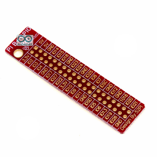 Raspberry Pi B+ GPIO Reference board 40 Pin