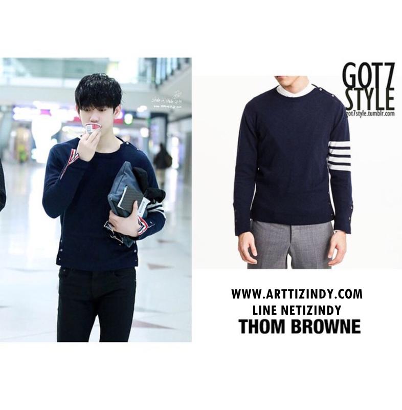 เสื้อแขนยาว Thom Browne Sty.Junior GOT7 -ระบุสี/ไซต์-
