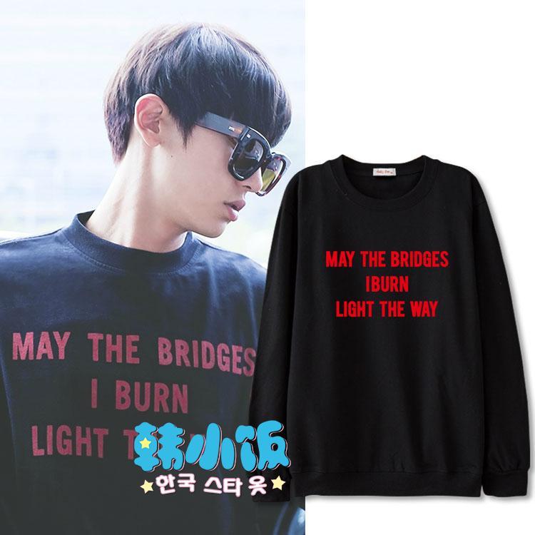 เสื้อแขนยาว VETEMENTS May The Bridges Sty.Chanyeol -ระบุสี/ไซต์-