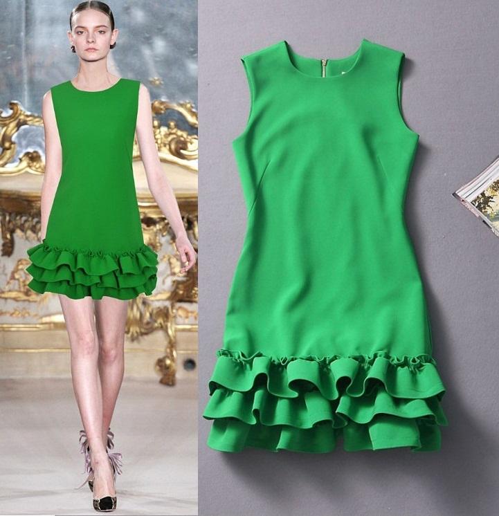 D570166 / S M L  / 2014 @  _  @  RUNWAY & MODEL FASHION  DRESS