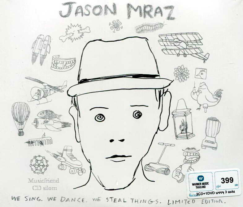Jason Mraz - We Sing, We Dance, We Steal Things Limited Edition