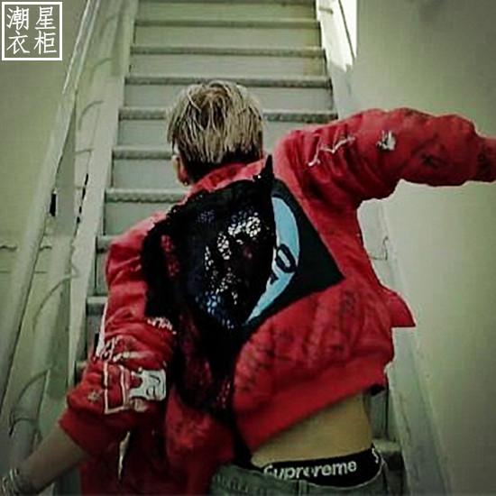 Jacket MV Loser Red Sty.Bigbang TaeYang -ระบุไซต์-