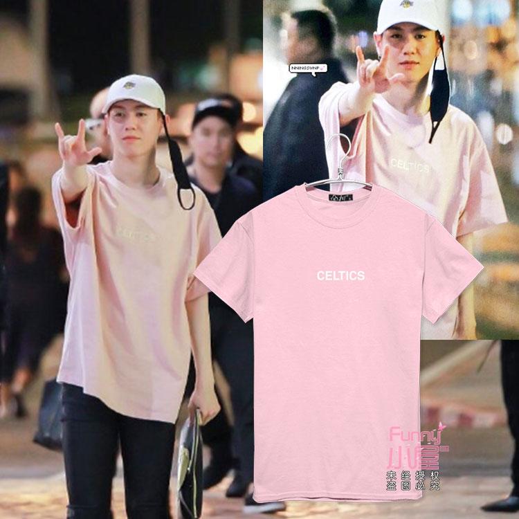 เสื้อยืด CELTICS Sty.Yugyeom GOT7-ระบุสี/ไซต์-
