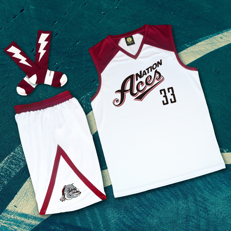 *Pre Order*LOWER MERION ชุดกีฬาเสื้อ+กางเกง Basketball size S-3XL