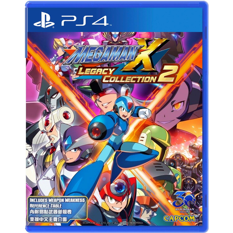 PS4: MEGA MAN X LEGACY COLLECTION 2 (R3)