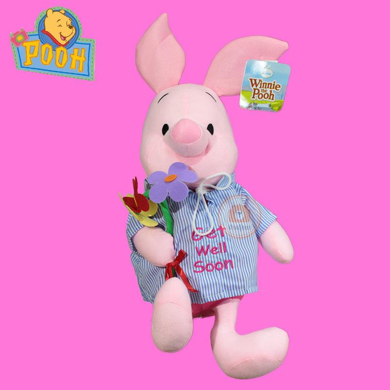 ตุ๊กตาพิกเล็ต ซีรี่ย์ถือดอกไม้ 12นิ้ว ลิขสิทธิ์แท้
