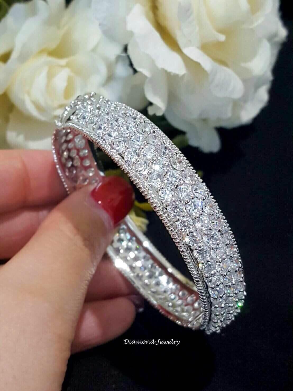 พร้อมส่ง Diamond Bangle