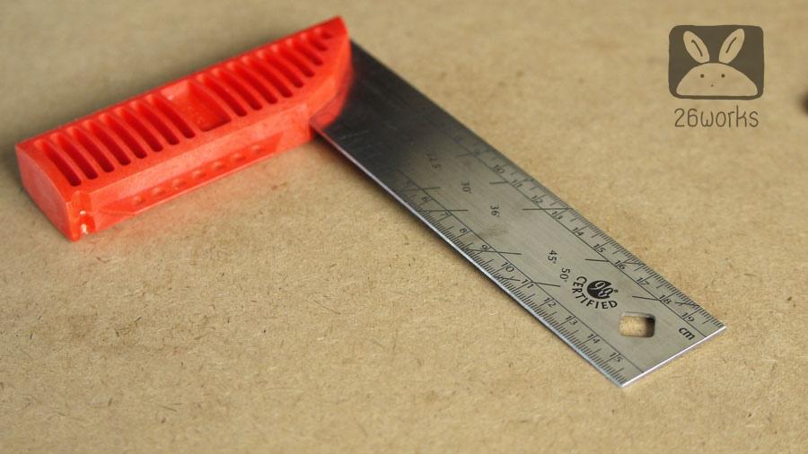 ฉาก 90 องศา KAPRO 20 cm