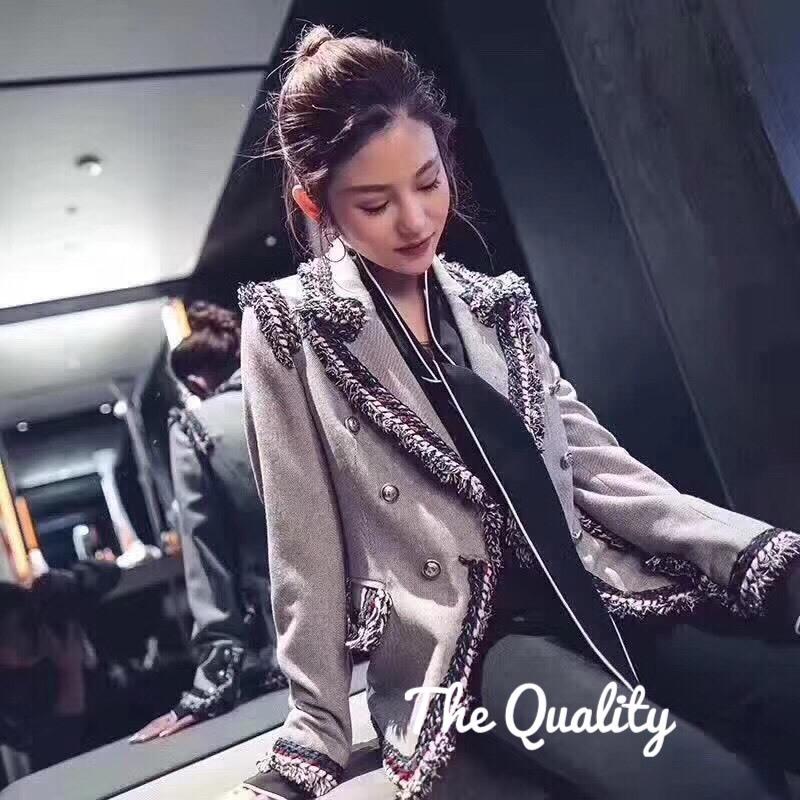 เสื้อเกาหลี พร้อมส่ง Blazer style korea