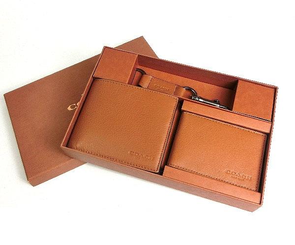 abefb74e49e9a COACH F64118 COMPACT ID WALLET IN SPORT CALF LEATH (Saddle) - Cocalo Shop  จัดจำหน่าย กระเป๋าแบรนด์เนมพร้อมส่ง สินค้าพร้อมส่ง กระเป๋าแบรนด์เนม ของแท้  100% ...