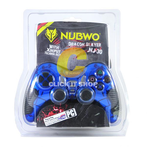 JoyStick Analog 'NUBWO' NJ-030 - ฺBlue