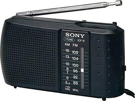 วิทยุเล็กแบบพกพา sony รุ่น ICF-8