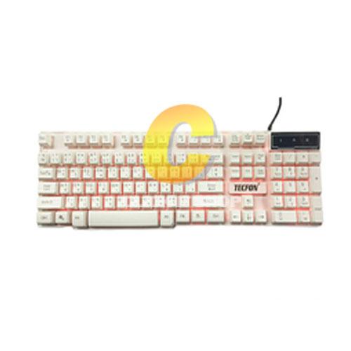Keyboard USB TECFON SX-A8 - White