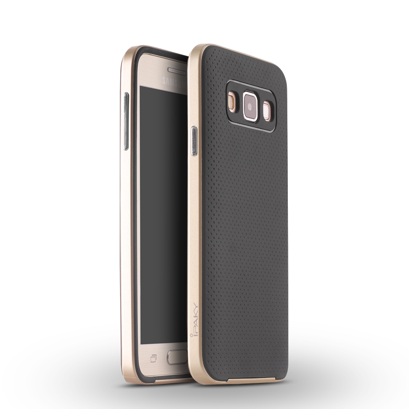 IPAKY Case for Samsung Galaxy A5 (Gold)