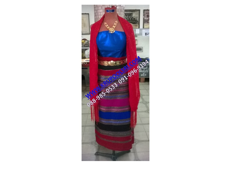 ชุดพม่า หญิง 20
