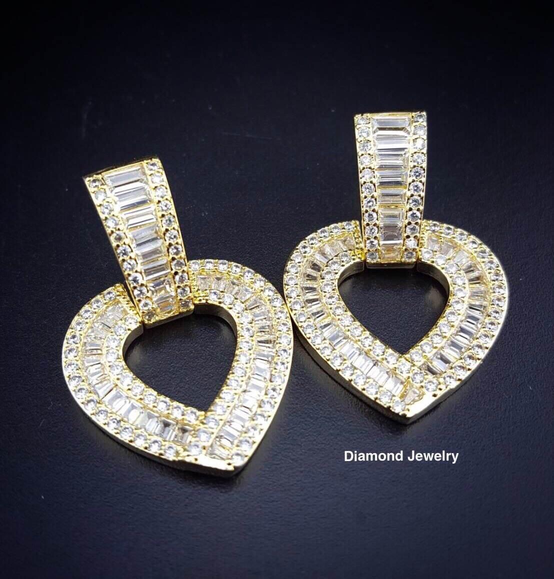 พร้อมส่ง Diamond Earring งานเพชร CZ แท้