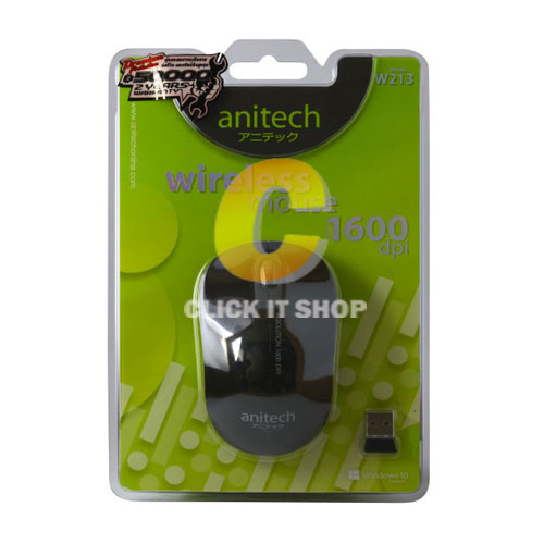 Mouse Wireless Anitech W213