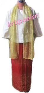 ชุดพม่า หญิง 06