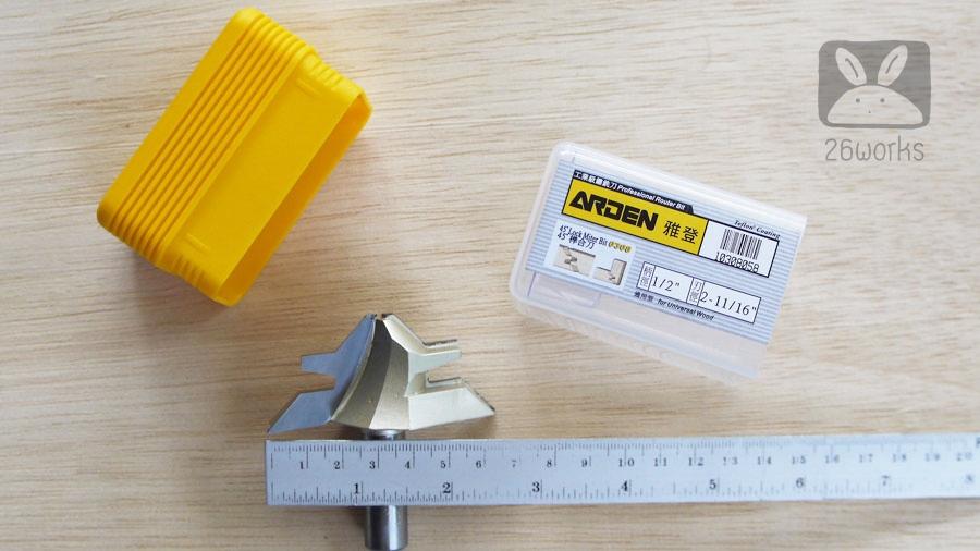 45° Miter Router Bits รุ่น 30 mm