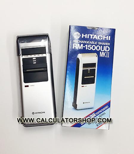 เครื่องโกนหนวดไฟฟ้า HITACHI แบบชาร์ทไฟ รุ่น RM-1500UD