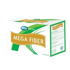 Mega Fiber (30 sachets) ใยอาหารสำหรับดูแลสุขภาพและผู้มีปัญหาท้องผูก