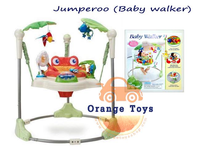 Baby Walker Sling Jump (Jumperoo) จัมเปอร์โร่ เก้าอี้กระโดด สำเนา