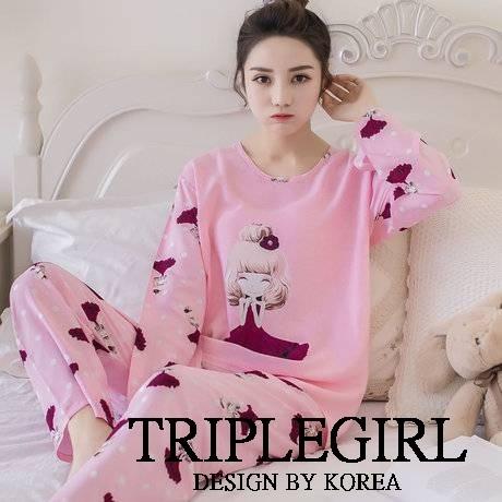 เสื้อผ้าเกาหลี พร้อมส่ง ชุดนอนเจ้าหญิง