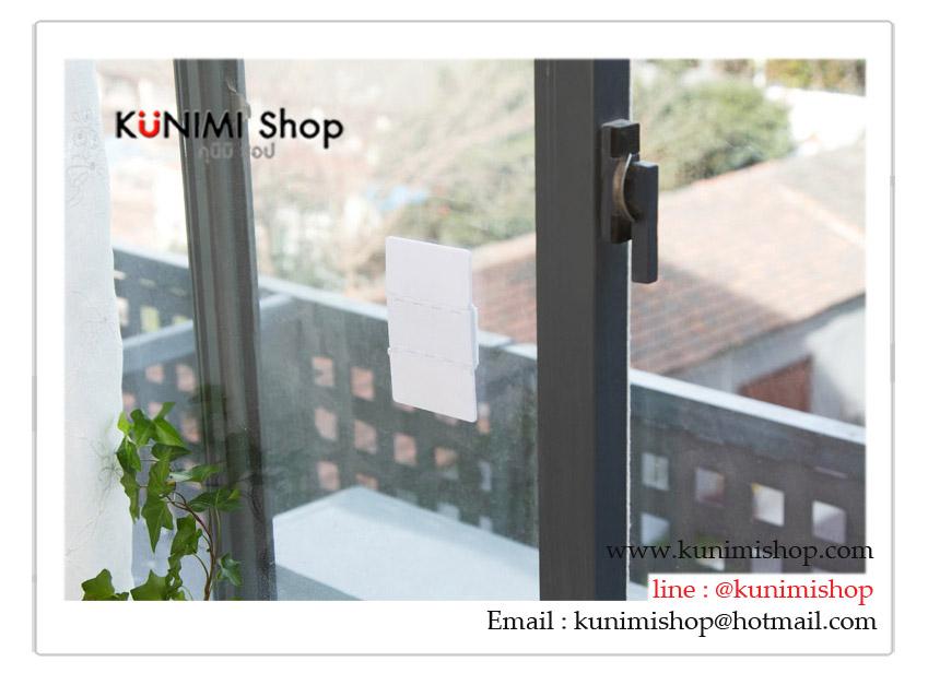 ที่กันประตู หน้าต่าง ป้องกันอันตรายจากโจน เด็กเล็กที่แอบบเปิดประตูเอง **ใช้ได้กับประตู หน้าต่างอลูมิเนียม