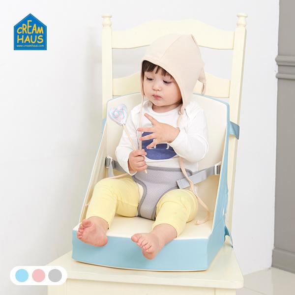 Creamhaus New Creamy seat cushion Plus เบาะเสริมรองนั่งสำหรับทานอาหาร รุ่นพกพาได้