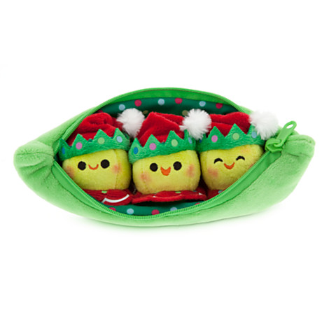 z 3 Peas-in-a-Pod Plush - Toy Story - Holiday - Mini Bean Bag - 8''