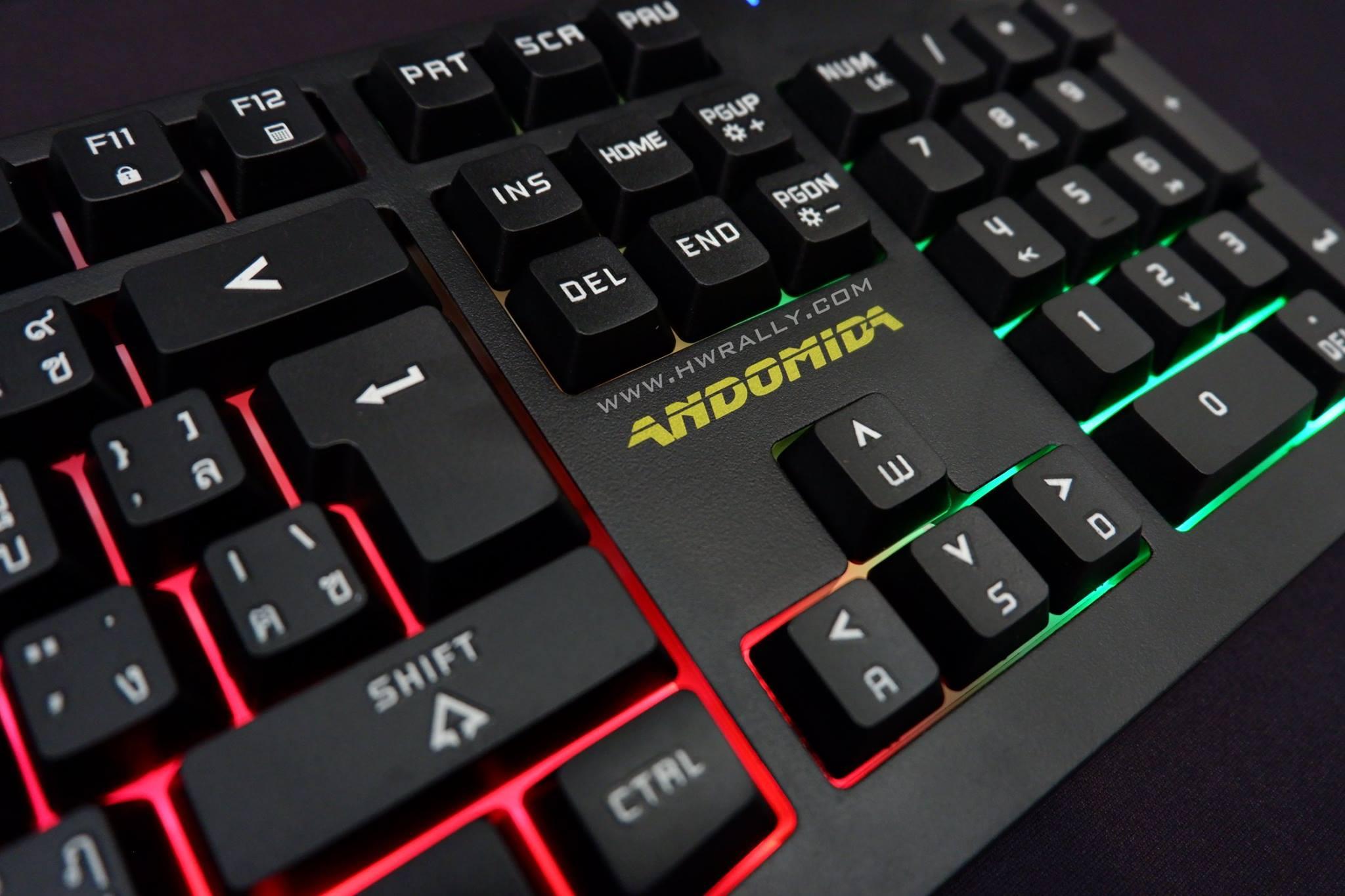 คีย์บอร์ด Neolution E-Sport Andomida (Rainbow)