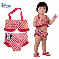 * Minnie Mouse Swimsuit for Baby - 2-Piece from Disney USA ของแท้100% นำเข้า จากอเมริกา (18-24 M)