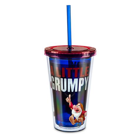 z Grumpy Tumbler with Straw