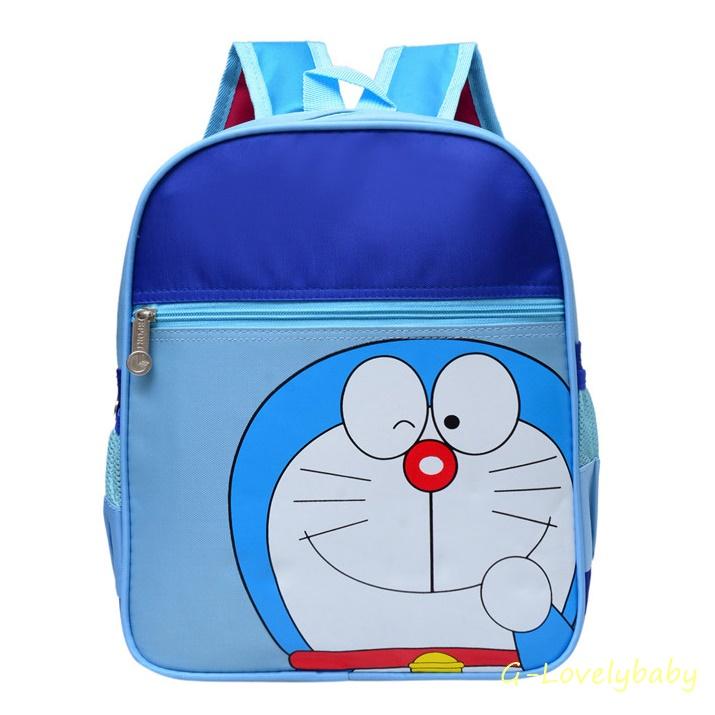 Kids Backpacks Kindergarten Backpacks กระเป๋าเป้เด็ก กระเป๋าเด็กลายการ์ตูน กระเป๋าเป้เด็ก กระเป๋าสำหรับเด็กอนุบาล โดเรมอน