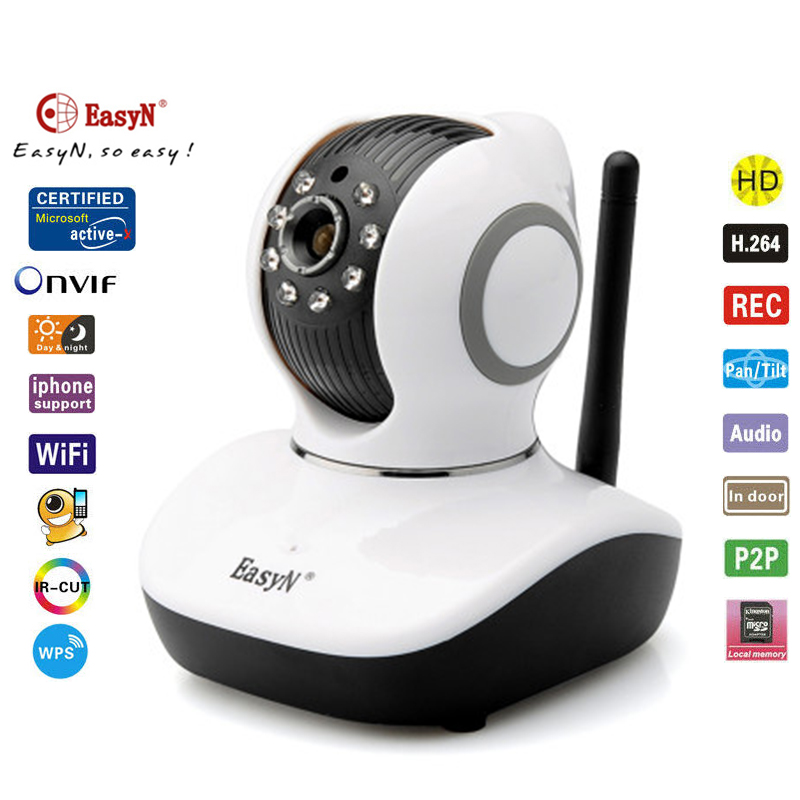 EasyN V10D (P1) Mini HD IP Camera Wireless PTZ WPS