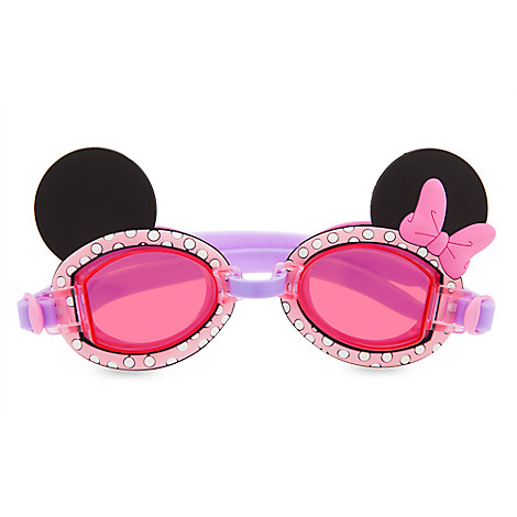Minnie Mouse Swim Goggles for Kids from Disney USA ของแท้100% นำเข้า จากอเมริกา