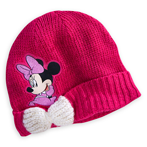 Z Minnie Mouse Knit Hat for Girls