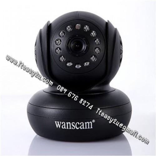 กล้องวงจรปิดไร้สาย P2P IP Camera 3แสนพิกเซล์ มีระบบ IRCUT และช่องใส่ SD Card 32GB ดูได้ทั้งทั้งกลางวันกลางคืน