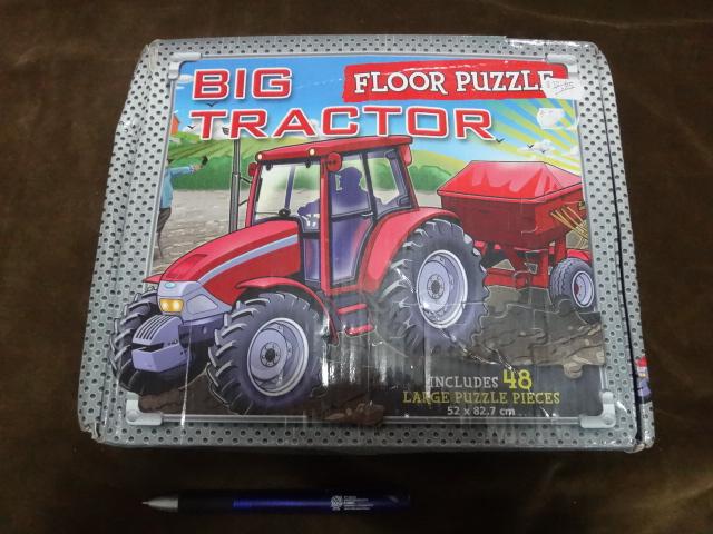 จิ๊กซอว์ 48 ชิ้น Big tractor floor puzzle