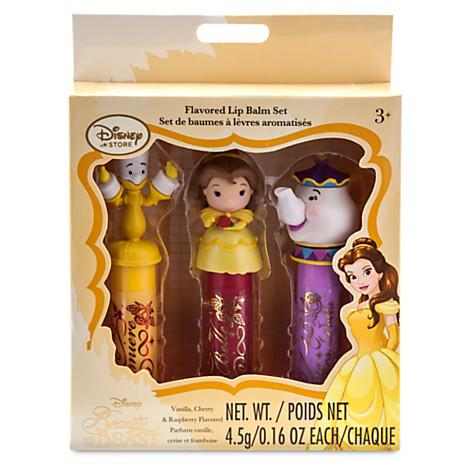 Beauty and the Beast Lip Balm Set ของแท้ นำเข้าจากอเมริกา