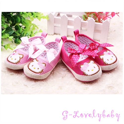 HELLO KITTY Pre-walker Baby Shoes รองเท้าเด็ก รองเท้าเด็กแบรนด์เนม รองเท้าเด็กผู้หญิงน่ารัก รองเท้าเด็กหญิงวัยหัดเดิน HELLO KITTY