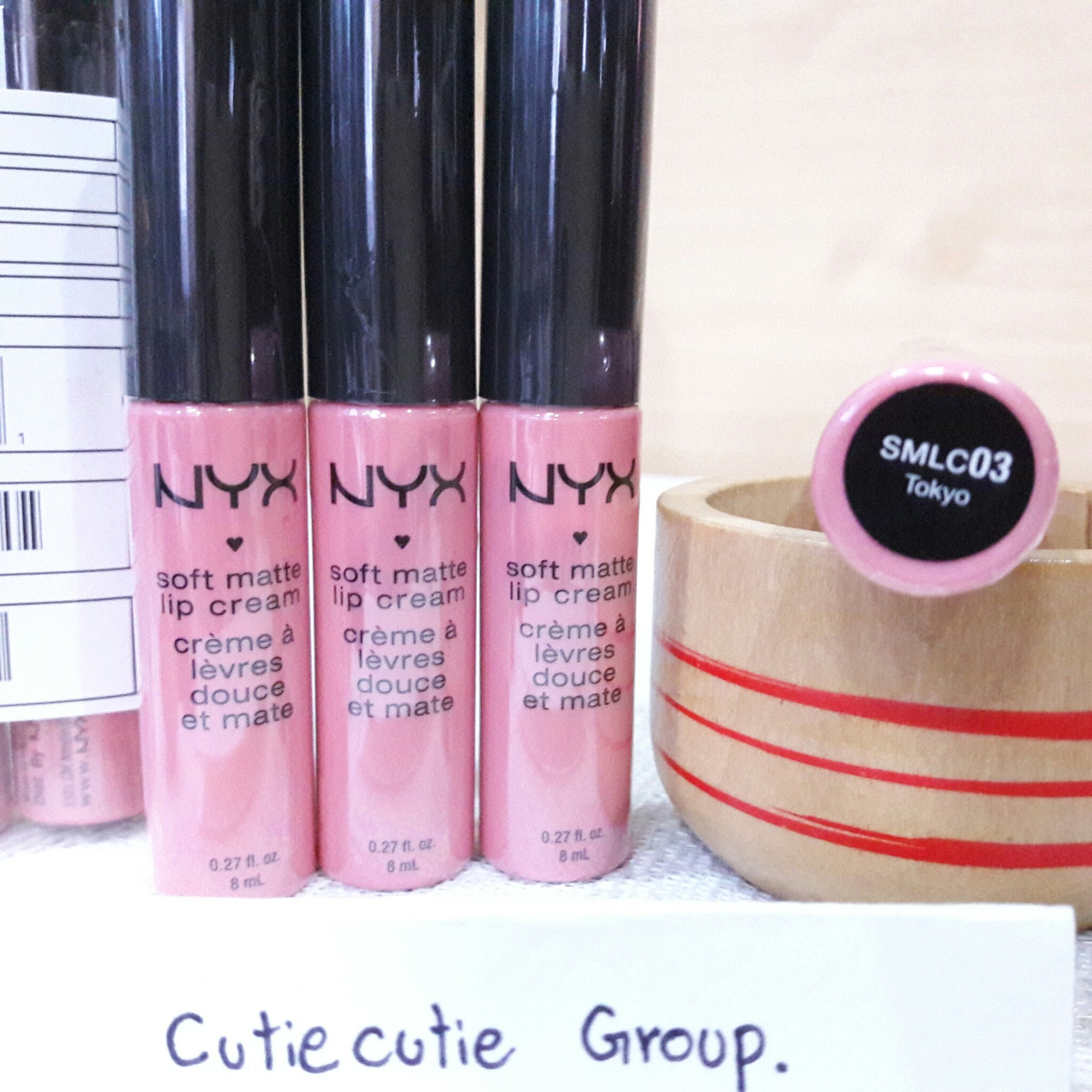SMLC03 Tokyo NYX Soft Matt Lip Cream