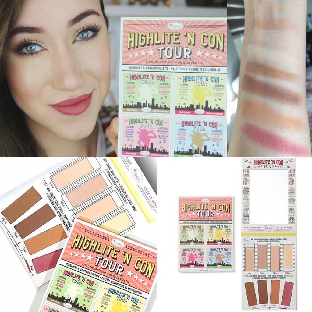 The Balm Highlite 'N Con Tour Highlight & Contour Palette