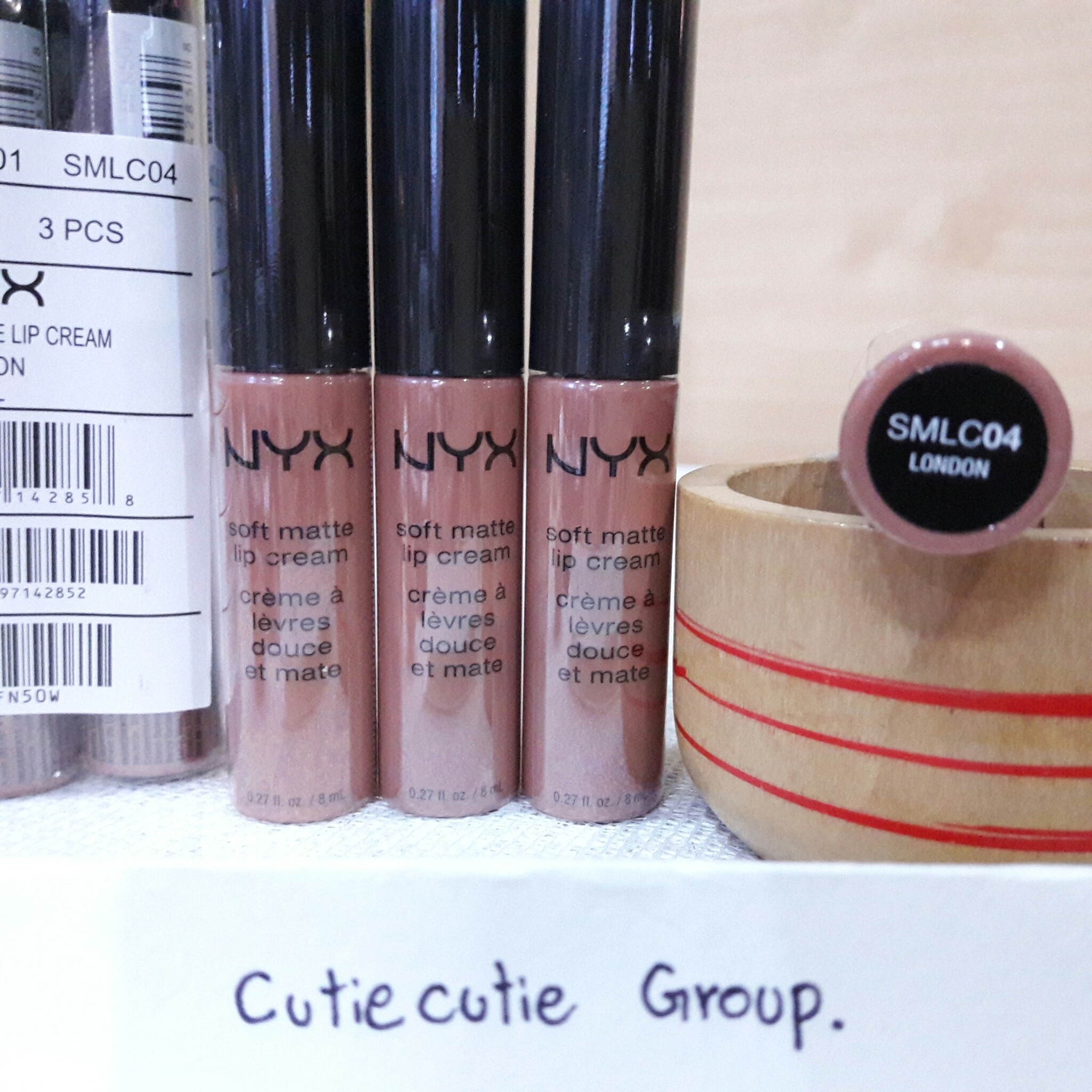SMLC 04 London NYX Soft Matt Lip Cream