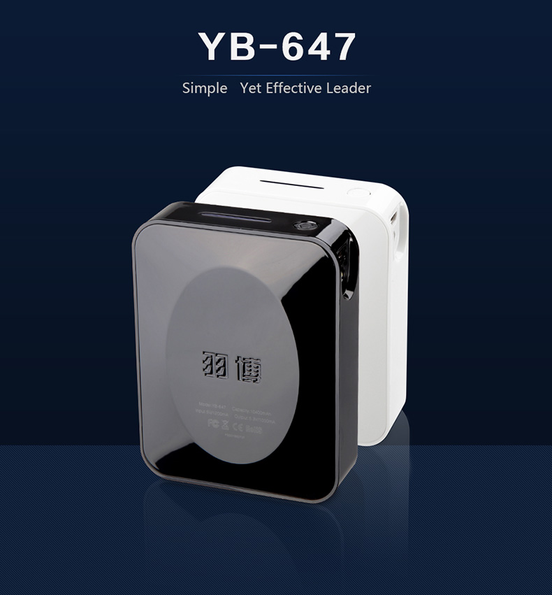 Yoobao Power Bank -10400mAH YB647(แท้) ที่ชาร์จพกพา
