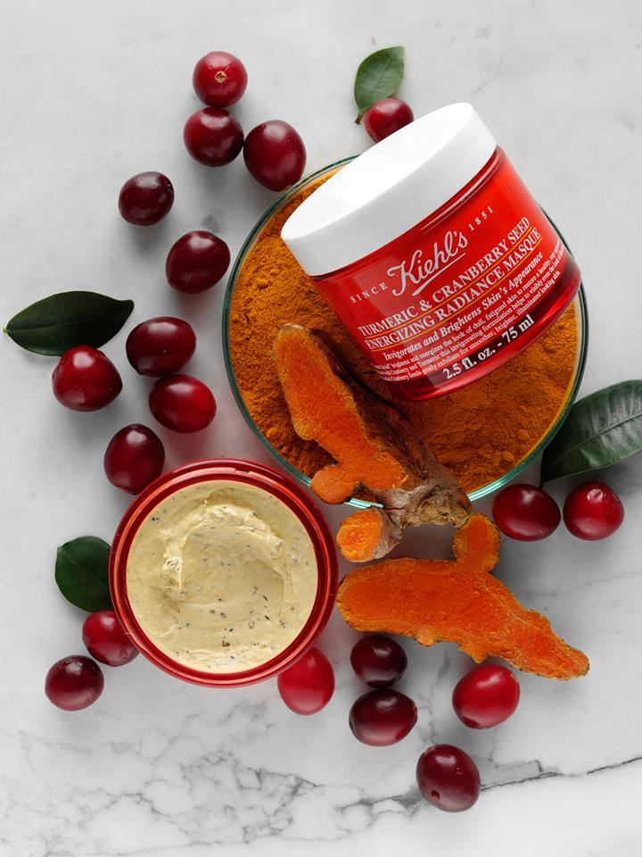Kiehl's Turmeric & Cranberry Seed Energizing Radiance Masque (75 ml.)